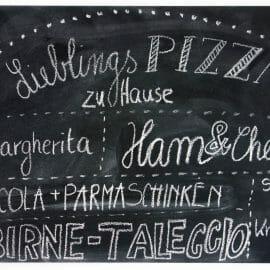 Pizzaabend mit Freunden