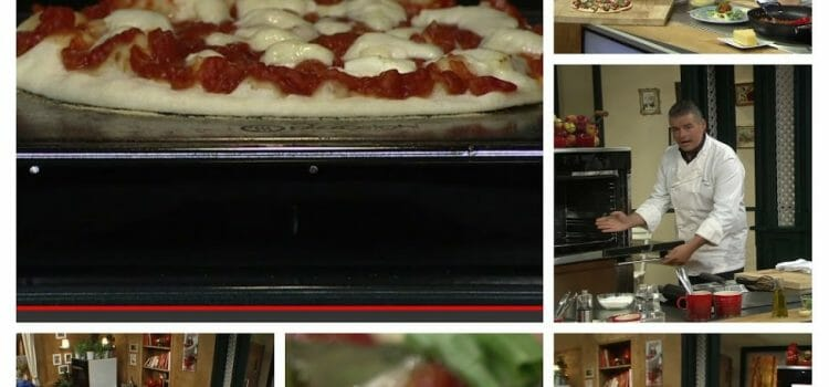 Pizzastahl im Fernsehen: Andreas Wojta macht Pizza Marinara