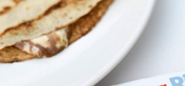 Kinderschokolade Crepes
